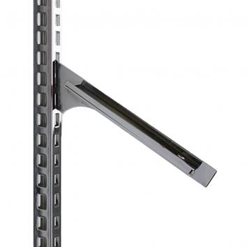 280mm Instore® Elite Sloping Shelf Bracket Chrome (2)