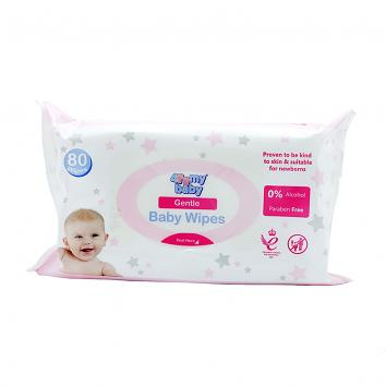 Baby Wipes - Pack of 80