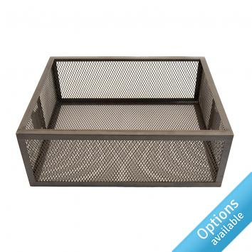 Clear Lacquered Tray Baskets STREET 76 Reg Design 6017285