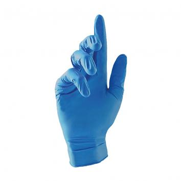 Blue Nitrile Gloves Large, Powder Free -1x100