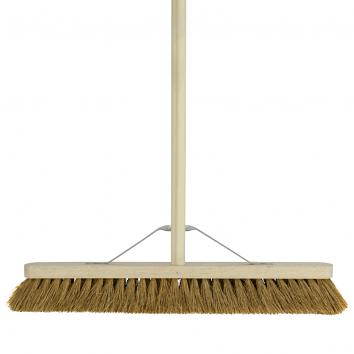 """24"""" Soft Coco Broom With Handle"""