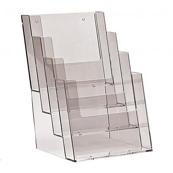 A5 4 Tier Free Standing Leaflet Dispenser
