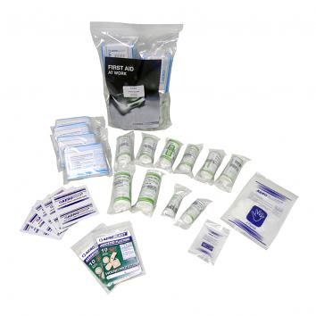 Aerokit 10 Person First Aid Kit Refill (No Box)