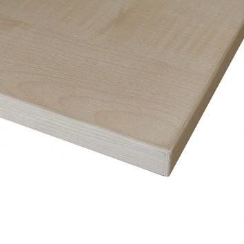 1100x400mm EAR Maple Melamine Top Shelf For Duo Gondola - Square Corners