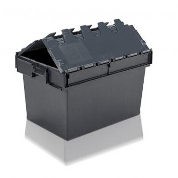 65 Litre Used Storage Container With Attached Lid