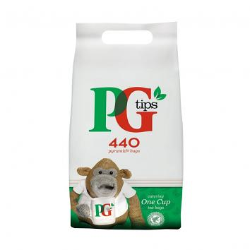 PG Tips Tea Bags - 440's