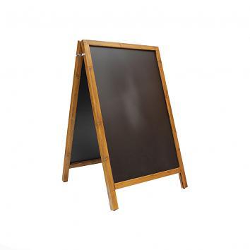 A1 Chalkboard, Wood Frame, Floor Standing