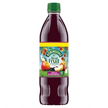 Robinsons Apple & Blackcurrant Squash - No Added Sugar