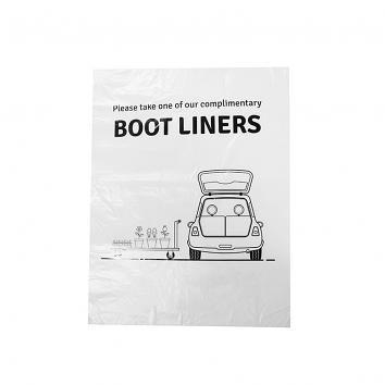 "Degradable 24x36"" Car Boot Liner  p.1000 (1000)"