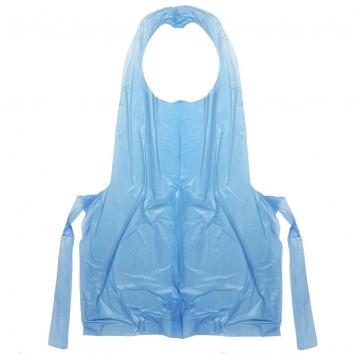 Blue Polythene Disposable Aprons