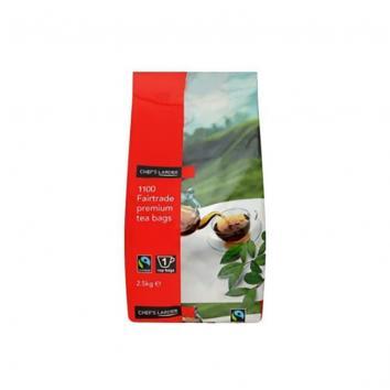 2.5kg Fairtrade Tea Bags - Pack Of 1100