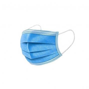 Disposable Purasan PPE™ Face Mask - Pack Of 50