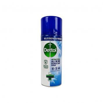 Dettol Air & Fabric Disinfectant Aerosol 400ml