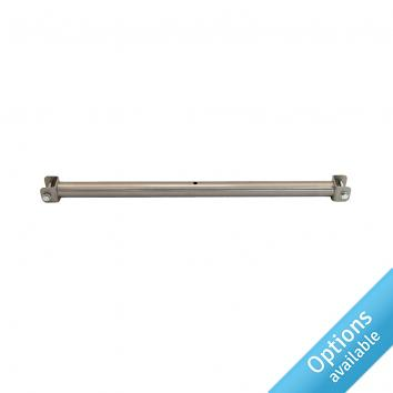 Clear Lacquered Tie Bars STREET 76 Reg Design 6017285