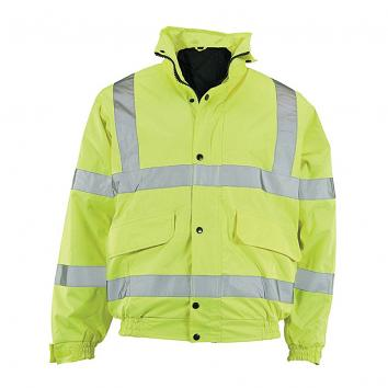 Hi Vis Waterproof Bomber Jackets