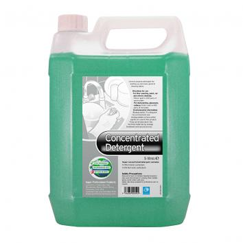Washing Up Liquid, Concentrated, 20% Active Detergent - 5 litre