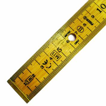 Wooden Government Stamped Ruler