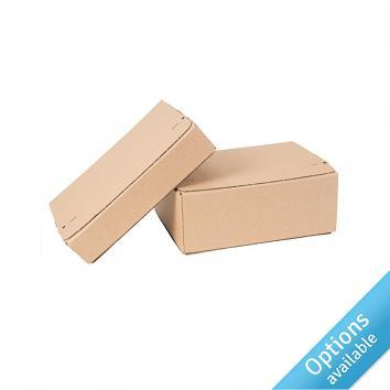Postal Boxes with Self-Adhesive Top & Base