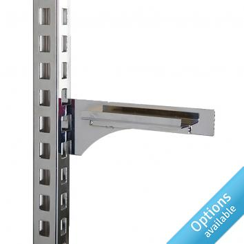 Instore Shelf Bracket Chrome